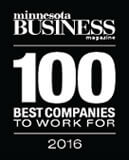 minnesota business 100 best companies to work for 2016